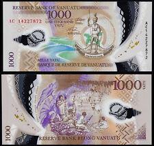 VANUATU 1000 VATU (P13) 2014 POLYMER UNC