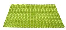 Brand New Plastic Sink Protecting Dish Drying Drainer Mat Washing Lime Green