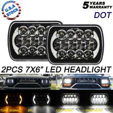"2x 7x6"" H6054 210W Projector LED Headlamp For International Harvester Peterbilt"