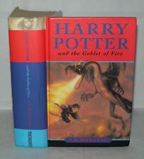 *Harry Potter and the Goblet Of Fire, J.K Rowling HB, 1st ed 2nd Print Ted Smart