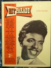 LITTLE RICHARD poster Hit Parade Housse 1959-REPRODUCTION AFFICHE