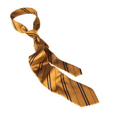 universal studios harry potter hufflepuff house silk tie new with tags