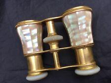 Victorian Opera Glasses Gall & Lembke Antique 1800's Mother of Pearl Binoculars