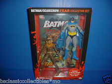 Batman And Scarecrow Figure 2-Pack Fear Collector Set With 24 Pg. Comic Book New