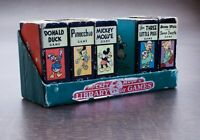 Vintage Mickey Mouse Library of Games 5 Vol Snow White Donald Duck 3 Pigs