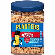 Planters Party Size Cocktail Peanuts ~ Heart Healthy ~ 35 oz