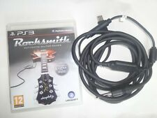 Rocksmith PS3 Sony Playstation 3 game with Real Tone Cable