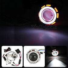 HID Projector Headlight Angel Devil Eye Fit Yamaha YZF R1 R6 R6S 600R 750R YZR