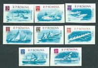 Rumänien - Post 1962 Yvert 1842/9 MNH Deportes. Boote