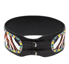 Emilio Pucci Bead Embroidered leather Belt SZS RRP 860GBP New Dress