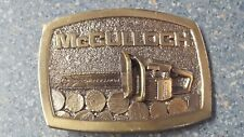 Belt Buckle Corporation McColloch Chain Saw Bronze