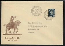 Norway nice cachet cover 1951 Ms0131