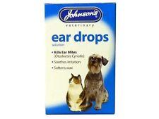 de Johnson Gotas para los oídos para gato y perro 15ml x 2 Pack