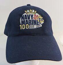 Navy Marine 1910- 2010 100 years  cap hat adjustable buckle
