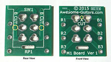 New PCB Simplifies Jimmy Page Push-Pull Upgrades & Other Pickup Control Projects