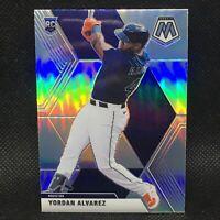 2020 Mosaic Prizm Yordan Alvarez RC Refractor Houston Astros Rookie #3