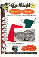 Spotlight on Monterrey March 18-31 #216 Mexico Hotels Bars Restaurants Ads