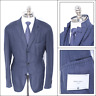 NWT BOGLIOLI Blue Twill Cashmere Notch Lapel Unconstructed Sport Coat 56 46 R