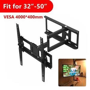 """TV Wall Bracket Mount Full Motion Swivel Tilt for 32 36 40 42 43 46 47 50"""" TVs"""