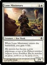 LONE MISSIONARY Rise of the Eldrazi MTG White Creature — Kor Monk Com