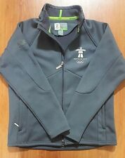 vancouver 2010 olympics jacket zip up sweater mens medium