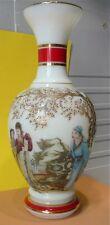 Superbe vase verre, opaline, japonisant…