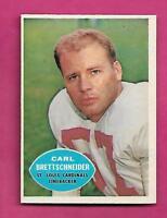 1960 TOPPS # 109 CARDINALS CARL BRETTSCHNEIDER NRMT CARD (INV# C0486)