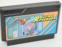 Famicom ROLLING THUNDER Cartridge Only Nintendo JAPAN fc