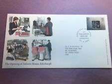 Scotland First Day Cover 2001 Opening of Talents House Edinburgh L987