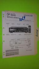 Kenwood dp-8010 Service Manual Original Reparatur Buch Stereo CD Player