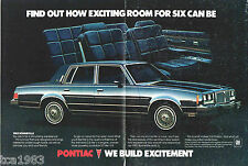 1983 Pontiac BONNEVILLE Dealer?Only Sales Brochure / Poster, VIP