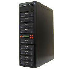 9 Burner Blu Ray CD DVD 16X Duplicator Copier Mdisc BD Tower Systor
