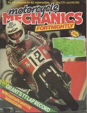 MCMF 27/5 81 Harley Fatbob Moto Guzzi T4 Kawasaki KH100 Mick Grant Graeme Crosby
