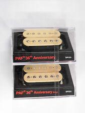 DiMarzio Regular Spaced PAF 36th Anniversary Neck & Bridge Humbucker Set Creme