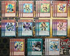 Yu-Gi-Oh Büroboter-Deck-Core-Set 001 002 003 004 005 006 007 008 009 Jet Basis