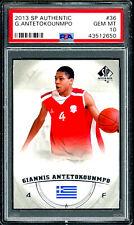 2013 Giannis Antetokounmpo SP Authentic #36 Rookie RC PSA 10 Gem Mint