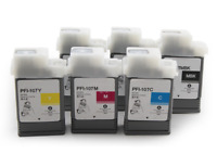 130ML/PC Ink cartridge PFI 107 for Canon iPF680 685 670 770 780 785  6colors/set