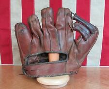 Vintage Marathon Leather Baseball Glove Fielders Mitt Charlie Keller NY Yankees
