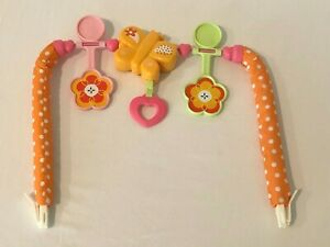 Fisher Price Infant To Toddler Rocker Bunny Replacement Butterfly Toy Bar Part