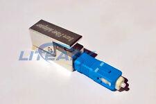 Fiber Optic Adapter Square Type Bare Fiber Adapter SC Shape Bare Fiber Adapter