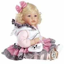 "New Adora Toddler The Cat's Meow 20"" Girl Weighted Doll Gift Set for Children 6+"