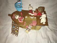 Sylvanian Families Adventure Treasure Ship Bundle/Joblot - Ship & 5 Figures