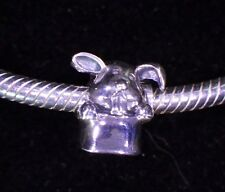 NAGARA UNBRANDED 925 Sterling Silver RABBIT IN A HAT MAGIC Euopean Charm Bead