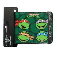 Buckle- Down TURTLES NINJA Bi-fold Leather Wallet