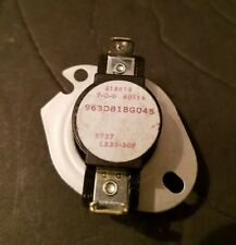 New GE Dryer Thermostat (230F-30F) 963D818G045. Free And Same Day Shipping