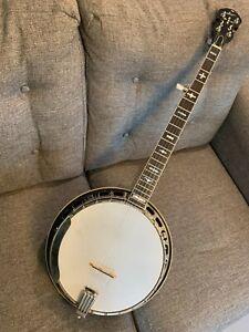 Saga 5-String Banjo Masterclone Style 1 (SS1)