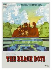 the Beach Boys POSTER Friends PROMO Ad - Brian Wilson - MUST SEE