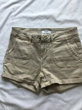 Kensie Womans Ivory Bage Shorts Size 26
