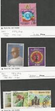 Sri Lanka, Postage Stamp, #800, 802, 804, 816/817, 819 Used, 1986-87