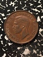 1942 Australia Penny Nice EF with some lustre